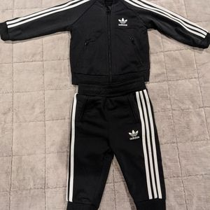 Adidas tracksuit Baby 9 month black